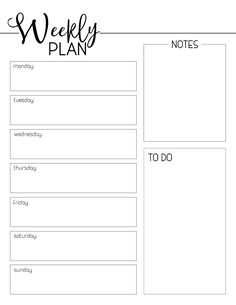 Weekly Planner Template Free Printable – Paper Trail Design - Старый Новый Год ПоздравРTo Do Planner, Week Planner, Daily Planner Pages, Printable Planner Pages, Templates Printable Free, Printable Paper, Free Printable Weekly Calendar, Schedule Templates, Free Printables