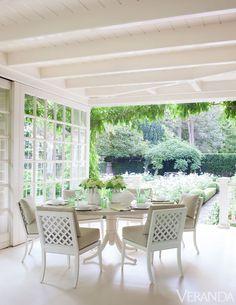 veranda at Southampton Cottage