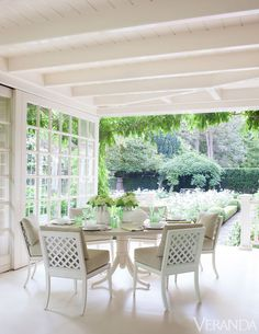 veranda at Southampton Cottage