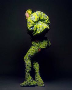 Leigh Bowery by Fergus Greer, Looks, 1988-1994. THE original club kid - an Australian in London and creator of club TABOO - pinned by RokStarroad.com