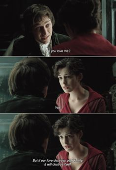anamorphosis-and-isolate:  Becoming Jane (2007)  Tom Lefroy:Do you love me?Jane Austen:Yes. But if our love destroys your family, it will...