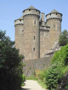 Cantal, France - Chateau d'Anjony
