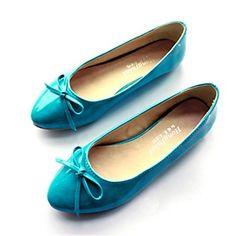 redondos plana calcanhar apartamentos toe sapatos femininos (mais cores) – BRL R$ 61,58