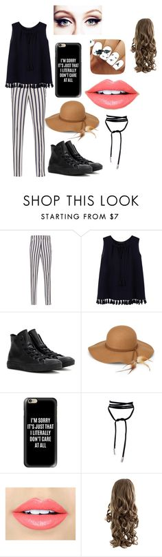 """""""Liike. ♥"""" by whysorude on Polyvore featuring mode, Dondup, Violeta by Mango, Converse, Steve Madden, Casetify et Fiebiger"""