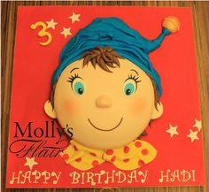 Kids Birthday - Oui Oui Cake by Molly's Flair