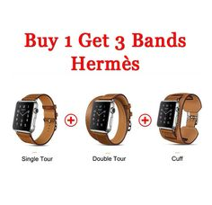 hermes leather band