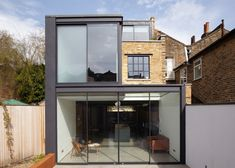 Giles Pike Architects Remodel a Home in London, England Contemporary Architecture, Architecture Details, Interior Architecture, Beautiful Interior Design, Home Interior Design, Street Pictures, My House Plans, London House, Brick Building
