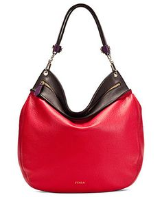 Furla Handbag, Large Groove Tracolla