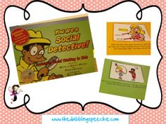 A review and activities to pair with the social Detectives book from Social Thinking