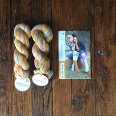 Texture joins lace for a combo package deal that you won't be able to resist. Stretchy, comfy, washable socks to lacy, fancy feet--either pair will give great sox appeal to everyone! CONTAINS TWO PATTERNS! - get the kit from PostStich!