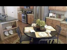 Palm Harbor Homes and The Rockwall Modular Home in Mesquite, Texas Mesquite Texas, Palm Harbor Homes, Modular Homes, Virtual Tour, Table Settings, Kitchen, Home Decor, Cooking, Decoration Home