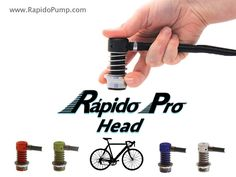 Cliff Currie is raising funds for The Rápido Pro Pump Head For Bicycles on Kickstarter! First super easy bicycle pump head that seamlessly engages with Schrader or Presta tire valves, making airing up your tires carefree. Tech Gadgets, Cool Gadgets, Bike Pump, Man Crafts, Cool Gear, Cool Bikes, Inventions, Bicycle, Pumps