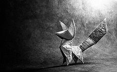 Origami Fox - Kunihiko Kasahara | Flickr - Photo Sharing!