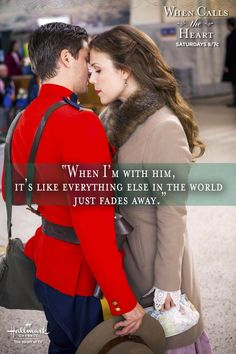"""When I'm with him, it's like everything else in the world just fades away."" - Elizabeth #Hearties"
