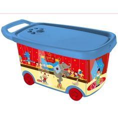 Roller Toy Box Circus