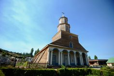 wooden churches in #Chiloe
