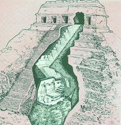 México: Secret grave in a mayan pyramid