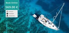 Enjoy a unique sailing cruise (half day 4 hours ) with Bavaria 40 yacht in Halkidiki, in Toroneos bay by going to Kelyfos island. Halkidiki Greece, Sailing Cruises, Underwater Photos, Thessaloniki, Beach Walk, Online Tickets, The Visitors, Bavaria, Snorkeling