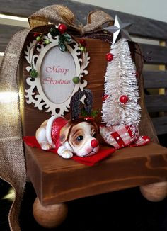 Christmas Decoration/ Merry Christmas Sign/ by SilverHopeDesigns