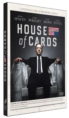 House of cards - Saison 1 - Kevin Spacey, Robin Wright,  David Fincher, James Foley, Joel Schumacher, Charles McDougall, Carl Franklin, Allen Coulter : DVD