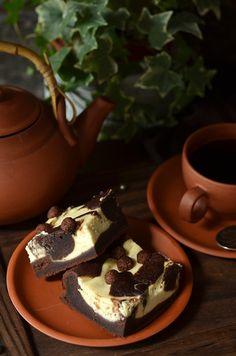 Łatwe ciasto czekoladowe z serem - niebo na talerzu Cheesecakes, Pudding, Cooking, Impreza, Food, Kitchen, Custard Pudding, Essen, Cheesecake