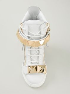 Giuseppe Zanotti Design High-top-sneakers Mit Keilabsatz - - Farfetch.com