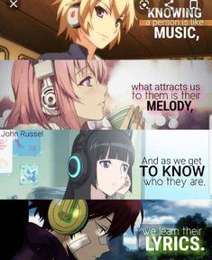 Anime Quotes Geek - Anime quotes , anime zitate , citations d'anime , citas de anime , anime drawi - Sad Anime Quotes, Manga Quotes, Anime Quotes About Love, Anime Triste, Otaku Anime, Manga Anime, Anime Art, Manga Girl, Anime Guys
