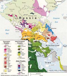 Les cartes des langues