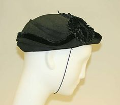 Hat, Callot Soeurs (French, active 1895–1937): 1935, French.
