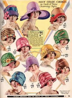"""Easter hats! Kate Gaddis often wrote in her diaries about taking her hat to the shop to have it """"trimmed,"""" especially at Easter time."""