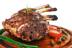 Standing Rib Roast is delicious and succulent meal requiring little effort and very few seasonings. A must for your special holiday entertaining menu! Chicke Recipes, Pork Recipes, Cooking Recipes, Beef Dishes, Food Dishes, Christmas Main Dishes, Christmas Baking, Prime Rib Of Beef, Standing Rib Roast