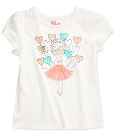 Epic Threads Mix and Match Graphic-Print T-Shirt, Toddler & Little Girls (2T-6X), Only at Macy's - Girls 2-6X - Kids & Baby - Macy's