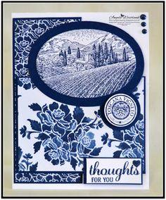 Ange's Treasures: Tuscan Vineyard