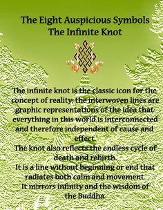 Symbols Endless Knots On Pinterest Symbols Buddhism