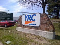 YRC cross Canada signage