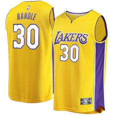 Julius Randle Los Angeles Lakers Fanatics Branded Youth Fast Break Replica  Jersey Gold - Icon Edition 085569369