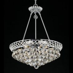 Lighting By Pecaso Chrome Charlotte Chandelier From Costco