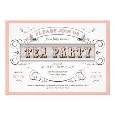 Sweet Tea Birthday Party Invitation  Birthday Party Invitations