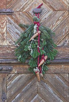 Decoration noel branche sapin