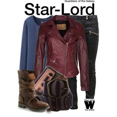 Inspired by Chris Pratt as Star-Lord in 2014's Guardians of the Galaxy.