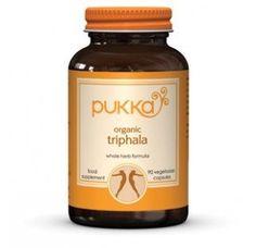Triphala Plus food supplement - Pukka Herbs incredible organic herbs Organic Herbs, Natural Herbs, Ginger Supplement, Pukka Herbs, Pukka Tea, Ayurvedic Herbs, Ayurveda, Blood Pressure Remedies, Thing 1
