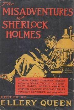 "Bob Byrne: ""The Public Life of Sherlock Holmes: Ellery Queen's Misadventures of SH"""