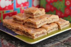Apple Pie bars have a flaky crust and the apple filling doesn't get runny like some apple pies do. This recipe has a special ingredient...corn flake crumbs!