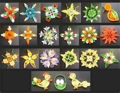 Quilling various