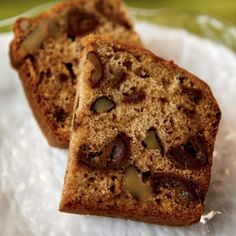 Old-Fashioned Date-Nut BreadThis tried-and-true recipe is dense, moist, and rich-tasting, with lots of dates and nuts in every bite.