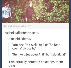 """Dan is in no way a badass<""""I'm about as intimidating as a pink butterfly on a marshmallow"""" haha"""