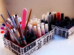 Beauty4Us: DIY: Caixa Organizadora