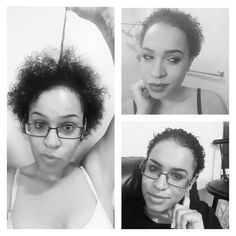 Big chopped in Nov 2015, left pic taken Nov 2016 #growth #natural #bigchop #hairpost #naturalhairjourney #mixed #mixedchicks #mixedhair #curlyhair #curls #hairpost #blackhair #natural