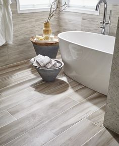 wood look porcelain tile is taking center stage these new stars - Matchstick Tile Castle 2016