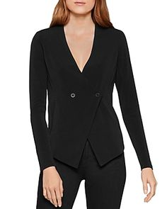 Bcbgeneration Double-breasted Cutaway Blazer In Black Black Blazers, Blazers For Women, Blazer Price, Cutaway, Bcbgeneration, World Of Fashion, Blazer Suit, Luxury Branding, Double Breasted